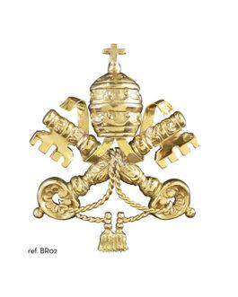Aplique Brasão Vaticano BR02