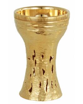 Cálice Dourado 814 – 19x12cm