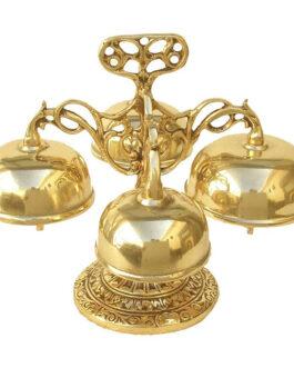 Carrilhão Dourado 4 Badalos Grande 7204