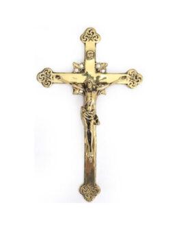 Crucifixo de Parede Bronze B05 – 36x21cm