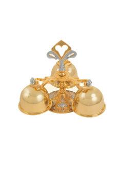 Carrilhão Dourado 635 – 16,5×14,5cm