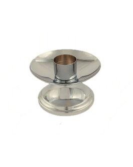 Castiçal Cromado C/Bocal 17025 – 7x12cm