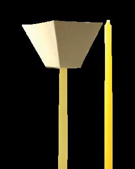 Vela Cônica para Procissão 28×1,5cm – VP-01