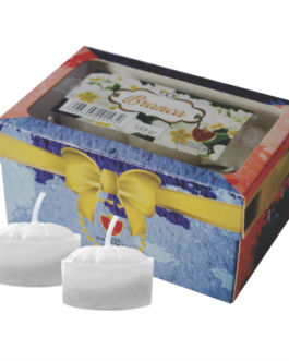Caixa de Velas Rechaud – Branca A-42
