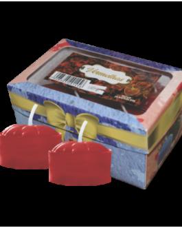 Caixa de Velas Rechaud – Vermelha A-39